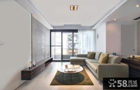 现代简约90平米两室两厅欣赏