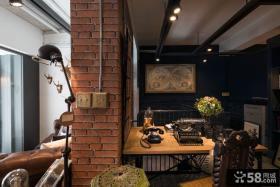 美式风格书房设计图欣赏