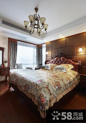 欧式古典风格卧室设计图