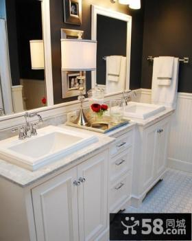 简约风格卫生间装修效果图 卫生间装修设计