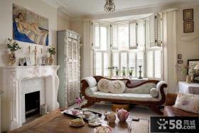 美式家装设计飘窗效果图
