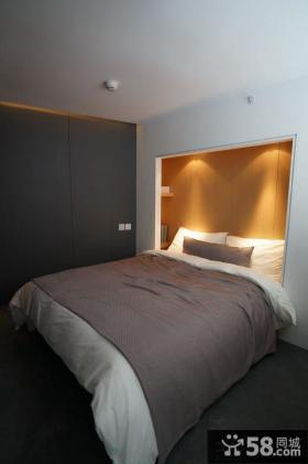 现代风格两室两厅卧室设计大全2014图片