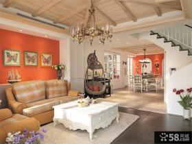 简欧复式家居装饰效果图片