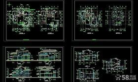二层农村自建别墅图纸设计
