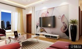 电视背景墙壁纸图片