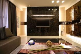 现代家居装饰客厅电视背景墙欣赏