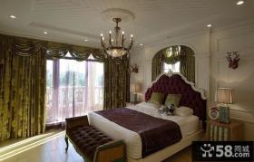 优质复古欧式风格装修卧室图片