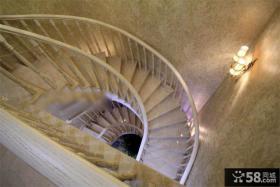 欧式旋转楼梯装修