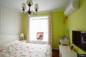 美式田园风格装修家居卧室图片