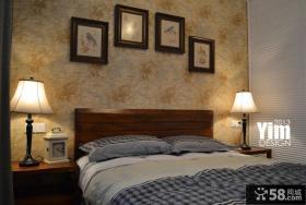 卧室床头装饰画背景墙效果图大全