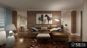 70平米小户型装修效果图 现代创意客厅欣赏