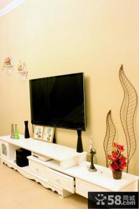 现代欧式客厅电视背景墙装修效果图片