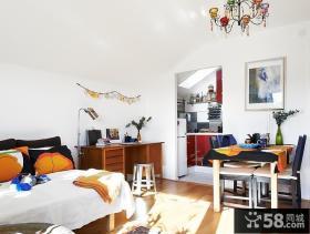 北欧风格单生公寓装修效果图
