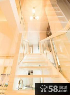 复式楼楼梯效果图片