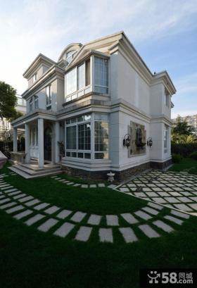 豪华别墅外观设计欣赏