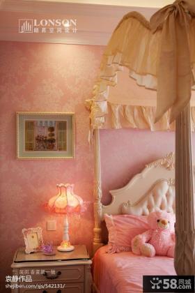 2013卧室壁纸效果图图片