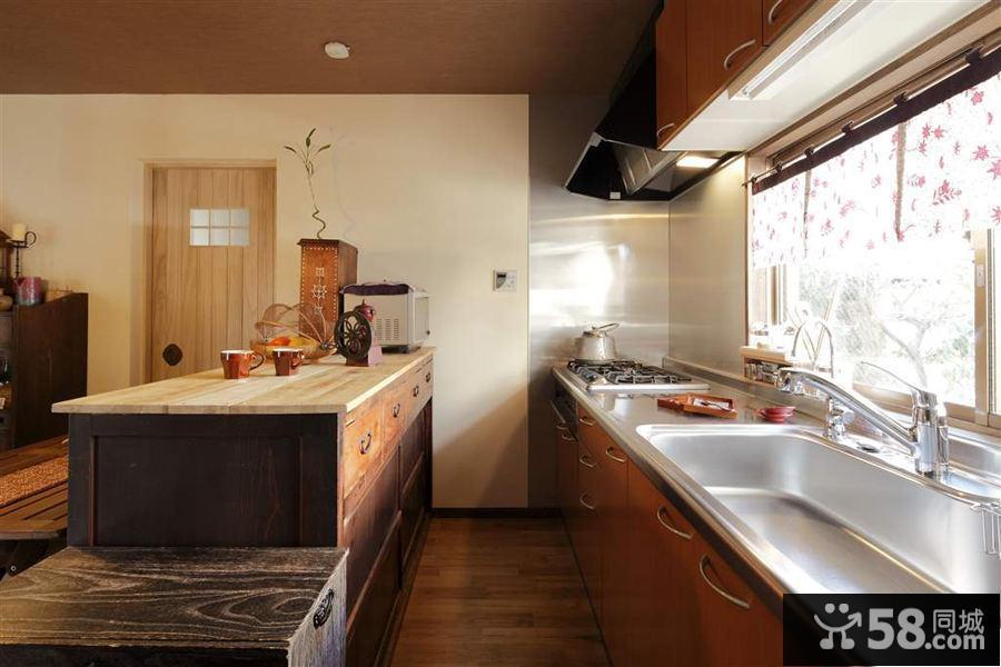 日式装修风格厨房效果图