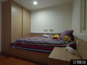 现代简约风格儿童房室内效果图