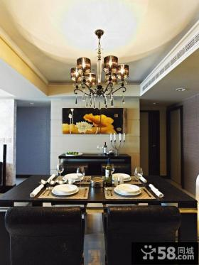 简约风格住宅餐厅装修设计效果图