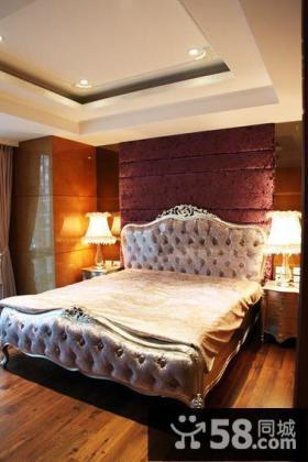 欧式大别墅室内卧室装修图片欣赏