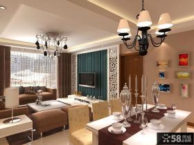 客厅餐厅装修设计图片