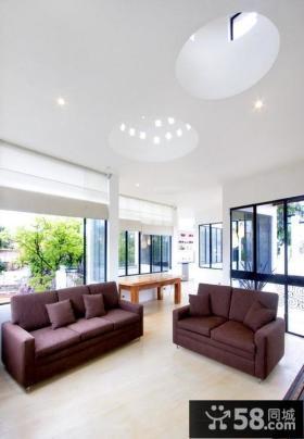 现代简约风格家装客厅图片