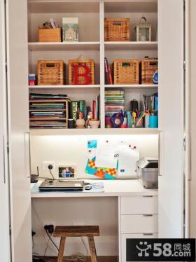 简约小户型书房设计图