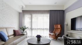 简约风格清新美式装修客厅设计