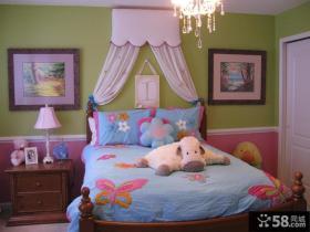 女生儿童房装修图片