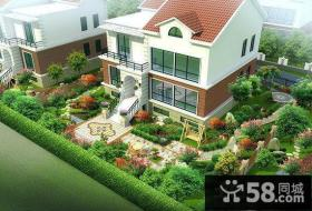乡村别墅庭院设计平面图
