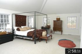 美式复古风格客厅装修效果图