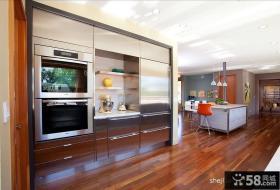 现代风格复式楼厨房装修效果图
