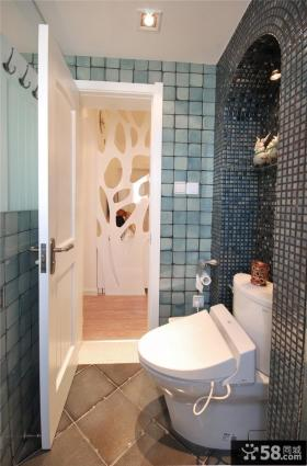 2013家装卫生间瓷砖装修效果图