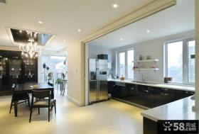 后现代设计风格复式厨房家装效果图