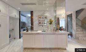 复式厨房设计效果图欣赏大全