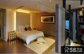 现代简约别墅卧室室内效果图欣赏