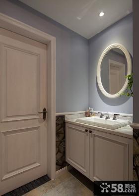 美式卫生间家居装饰设计效果图