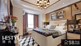2013欧式现代风格卧室飘窗装饰效果图