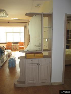 优质客厅玄关隔断效果图片