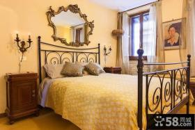 复古欧式风格卧室设计装修效果图