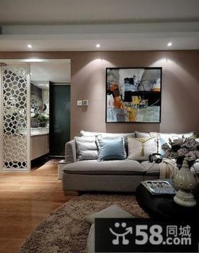 现代简约客厅沙发背景墙装饰画