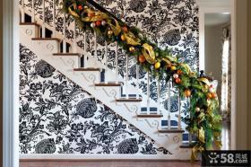楼梯栏杆装饰效果图欣赏