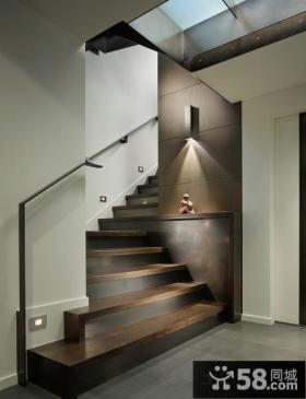 现代设计室内楼梯图片欣赏大全