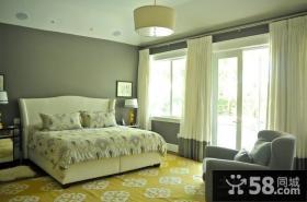 婚房卧室装修效果图大全2012图片