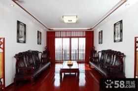 中式装修风格客厅效果图片