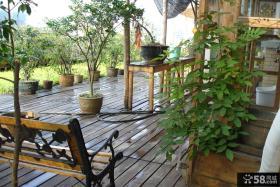 日式阳台花园装修图片