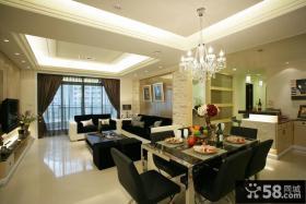 优质现代风格三居室内设计图片