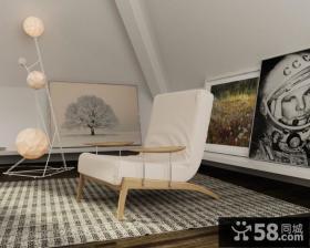 17万打造120平欧式田园风格客厅装修图片