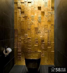 美式风格卫生间背景墙装修效果图大全2012图片
