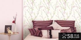 卧室床头玉兰壁纸图片